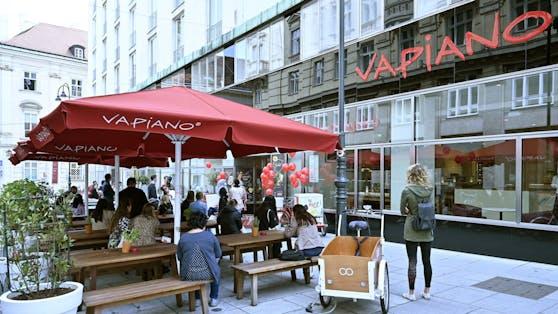 Mit einem geänderten Speisenangebot möchte Vapianoin Deutschland neu durchstarten. In Österreich bleibt die Pizza auf der Karte.