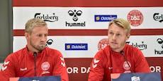 Dänemark-Spieler berichten von Besuch bei Eriksen