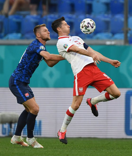 Polen gegen Slowakei