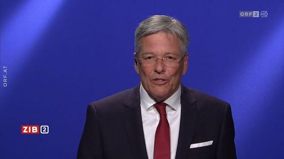 LH Peter Kaiser (SPÖ) diskutierte mit Verfassungsministerin Karoline Edtstadler (ÖVP) in der ZiB2.