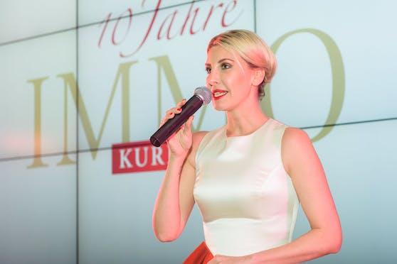 Moderatorin Cathy Zimmermann führte durch die Gala