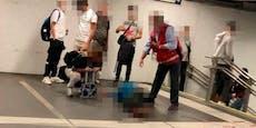 Mann (46) am Weg zur Bim bei Sturz schwer verletzt