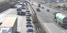Mega-Stau! S1-Tunnel Rannersdorf nach Crash gesperrt