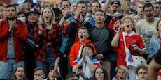 Corona-Angst! Russland sperrt jetzt die Fans aus