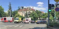 Autounfall in Wien-Hietzing fordert zwei Verletzte