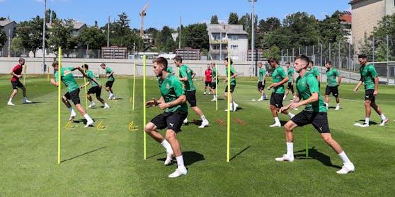 Rapid trainiert für die neue Saison.