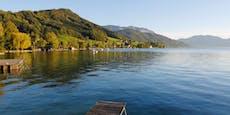 Wasser in Seen top, nur an diesem Flussbad pass auf
