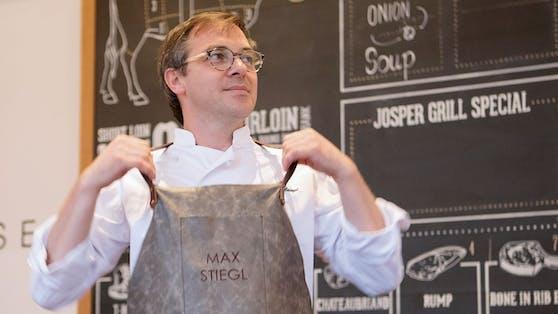 Max Stiegl ist Koch des Jahres.