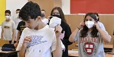 Masken-Verweigerer können jetzt von der Schule fliegen