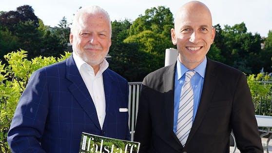 Wolfgang Rosam gilt als ÖVP-naher PR-Profi (Im Bild mit Arbeitsminister Martin Kocher)