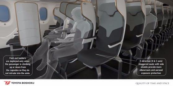 Ein japanisches Unternehmen hat ein neues Konzept für die Zukunft der Luftfahrt konzipiert.