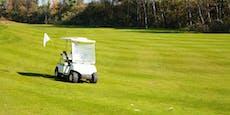 Mann (74) verriss Golfcart und überrollte Frau (61)
