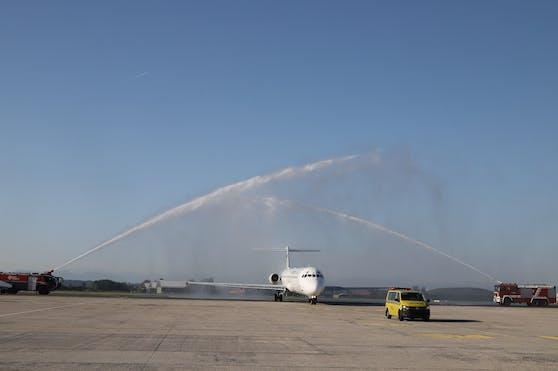 Am Mittwochvormittag hob der erste Flieger von Linz nach Kreta ab.