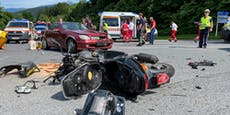 Mofa-Fahrer stirbt bei Frontalkollision mit 91-Jährigem