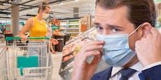 Handel, Gastro: Morgen verkündet Kurz Aus für FFP2-Masken