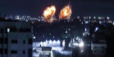 Israel fliegt wieder Luftangriffe auf Gazastreifen