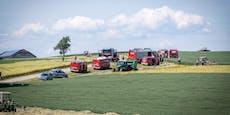 Brand forderte über zehn Feuerwehren im Bezirk Scheibbs