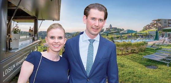 Sebastian Kurz soll seine Susanne gerüchteweise im Loisium in der Steiermark heiraten.