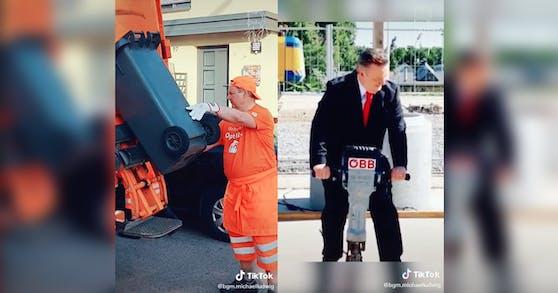 Auf Tiktok zeigt Wiens Bürgermeister seine humorvolle Seite
