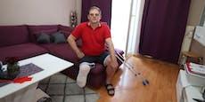 Wiener (50) verlor nach der Impfung Unterschenkel