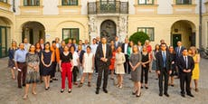 """City-Politiker mit """"orangen Schnäbeln"""" gegen Gewalt"""