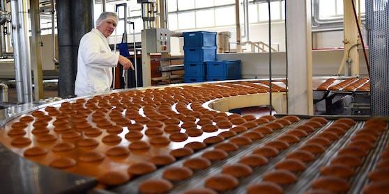 Keks-Produktion bei Bahlsen (Symbolbild)
