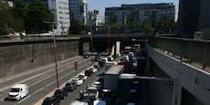 Lkw-Crash sorgt für Stau-Chaos auf Wiener Tangente