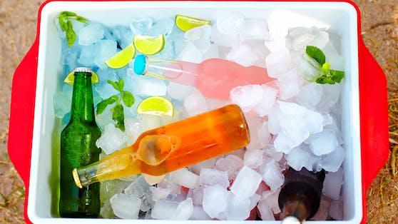 Gekühlte Getränke: Gar nicht so erfrischend im Sommer (Symbolfoto)