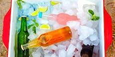 Warum kalte Getränke bei Hitze nicht erfrischend sind