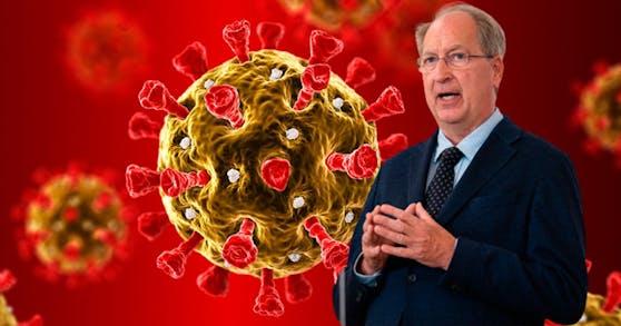 Oswald Wagner, Vizerektor der MedUni Wien, warnt ausdrücklich vor der zu 100 Prozent infektiöseren Delta-Variante.