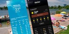 Jetzt warnen auch die Handys vor der extremen Hitze