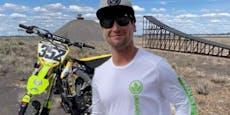 Motocross-Star (28) stirbt bei Weltrekord-Versuch
