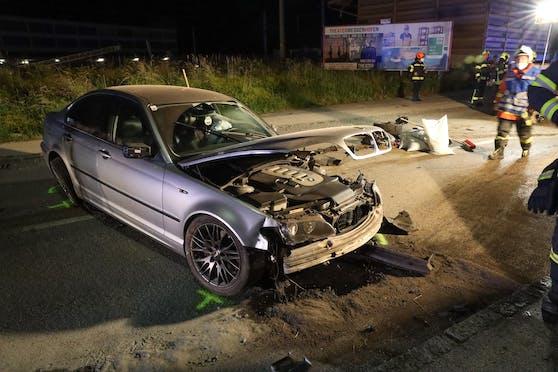 Zwischen Grieskirchen und Bad Schallerbach kam es zu einem schweren Unfall.