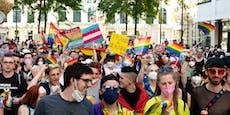 Erste Pride Parade fand in St. Pölten statt