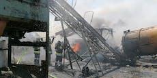 Großeinsatz der Feuerwehr bei Brand in Großhain