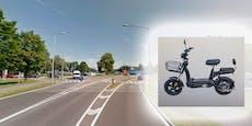 Moped-Fahrrad gegen Lkw – Lenker (50) tot