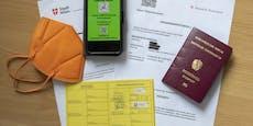 Grüner Pass: Bald kommen Gurgeltests mit QR-Codes