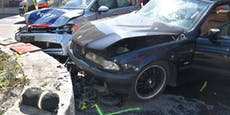 Lenkerin (29) crasht Polizeiauto – mehrere Verletzte