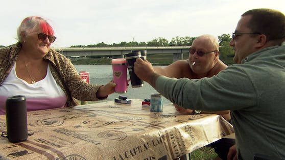 """Adele mit Peter (Mitte) bei """"Donauinsel – Leiwand am Eiland"""""""