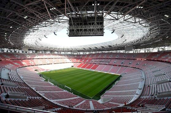Volle Hütte in Budapest, in Ungarn dürfen 61.000 Zuschauer jubeln.