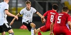 1:1 für DFB-Team bei Comeback von Müller und Hummels