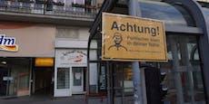 Islam-Warnschilder bei Wiener Moscheen montiert