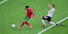 Ronaldo verweigerte Trikot-Tausch mit Deutschland-Held