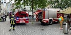 Großeinsatz! Brand mitten in St. Pöltner Innenstadt