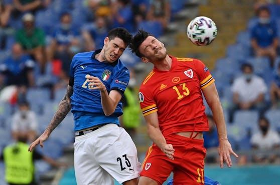 Italien gegen Wales