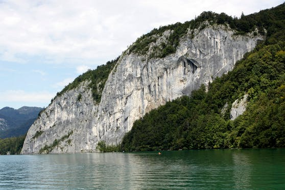 Falkensteinwand am Wolfgangsee