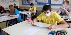Erste Schulen in Israel kehren zu Masken zurück