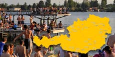 Extreme Hitze! Warnungen für ganz Österreich ausgegeben