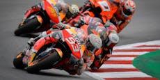 Marquez triumphiert sensationell auf dem Sachsenring