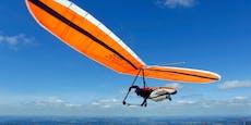 Drachenflieger schlägt bei Absturz mit Kopf auf – tot